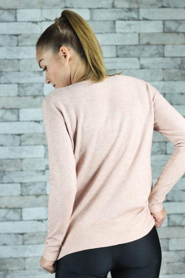 Μπλούζα Πλεκτή Pink One Pocket