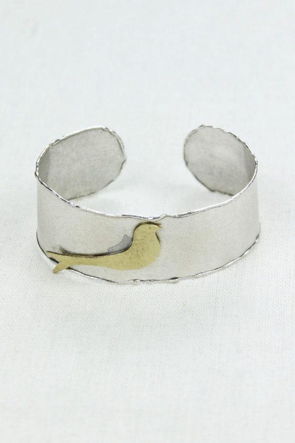 Βραχιόλι Silver Bird Gold