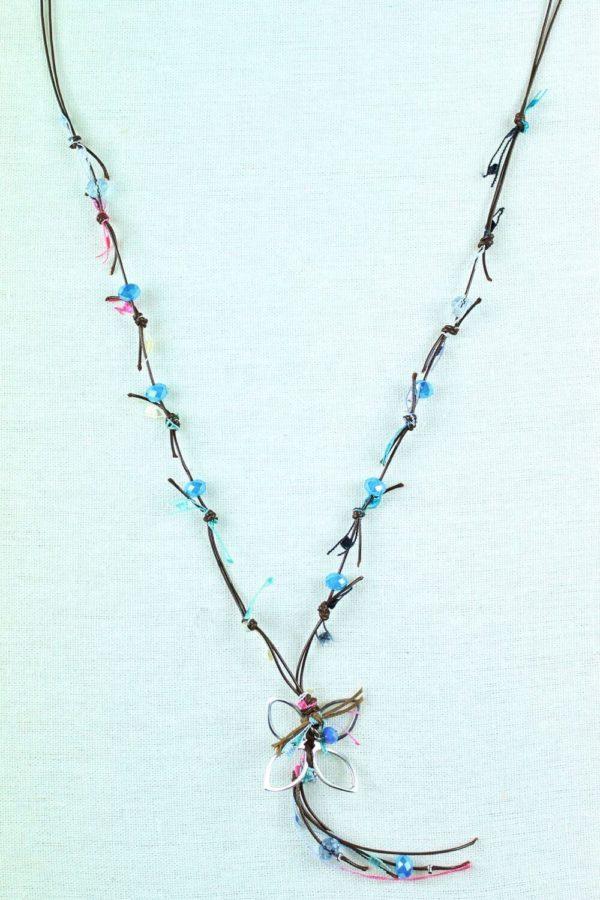 Κολιέ Multi Beads Flower