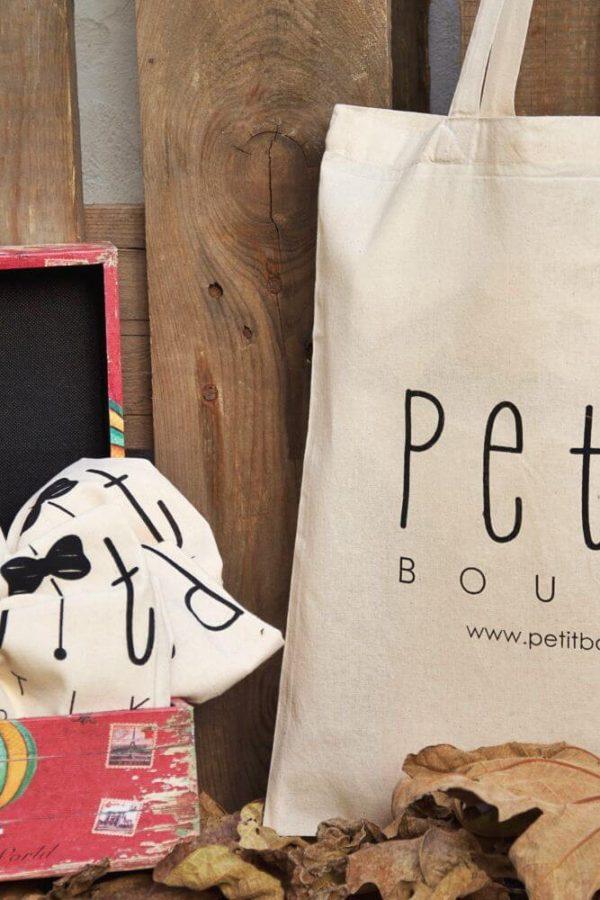 Πάνινη Τσάντα Petit Boutik