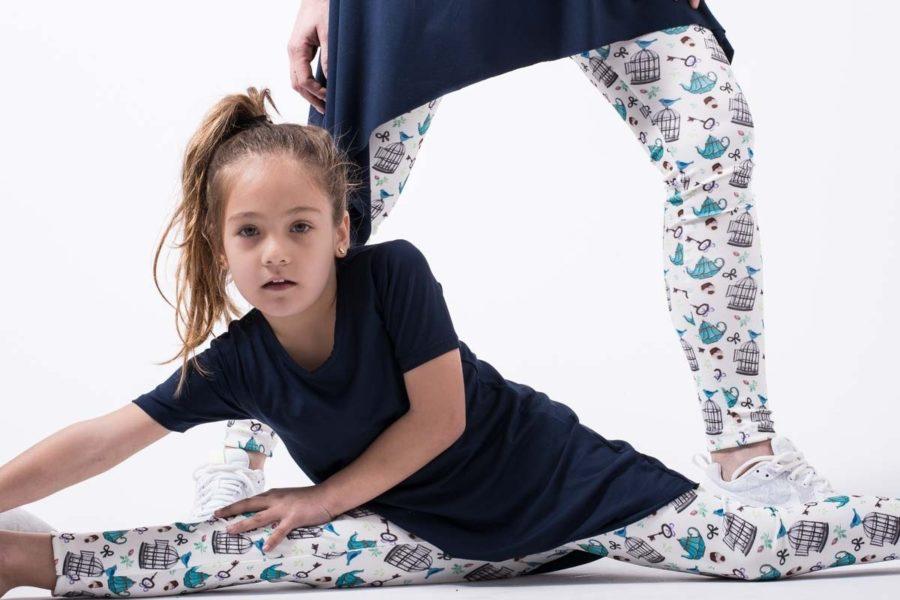 Μπλε Μπλούζα με Μύτες Παιδική