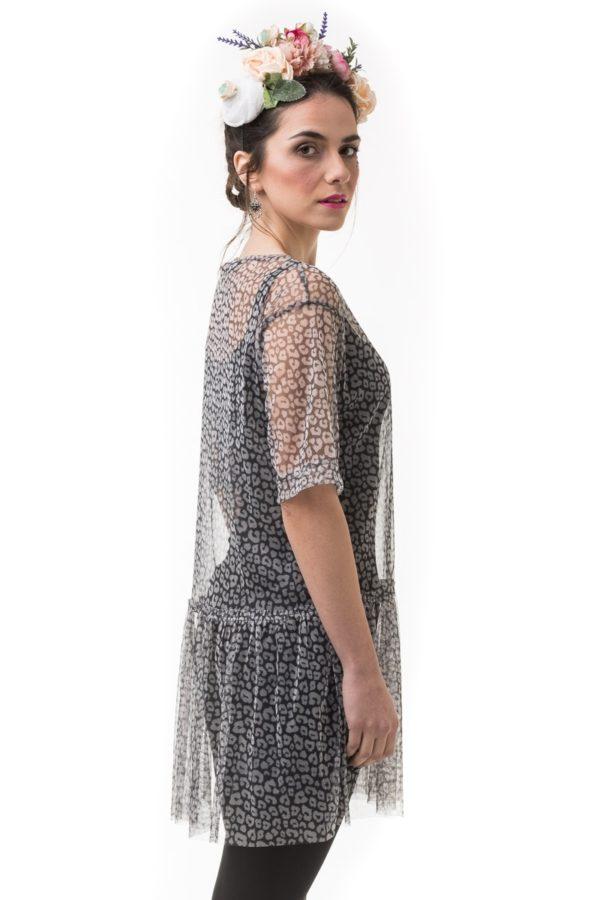 Λεοπάρ Φόρεμα Τούλι