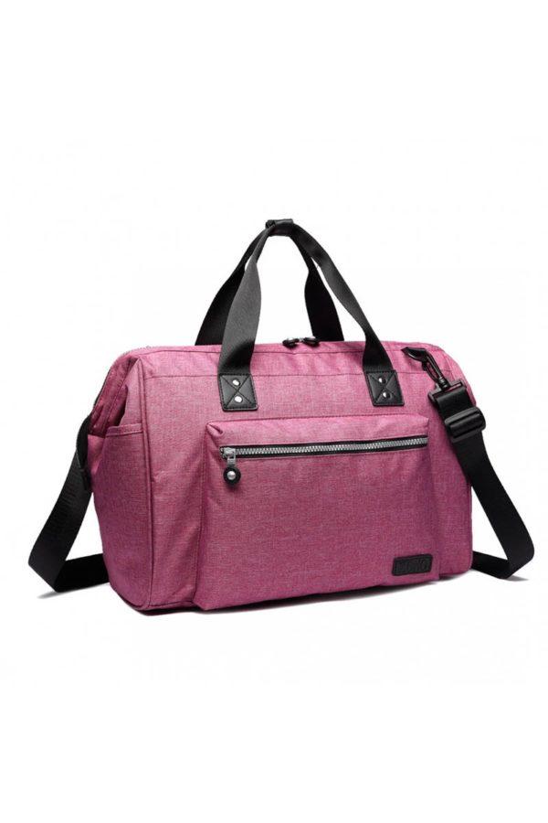 Ροζ Τσάντα Αλλαξιέρα Ταξιδίου