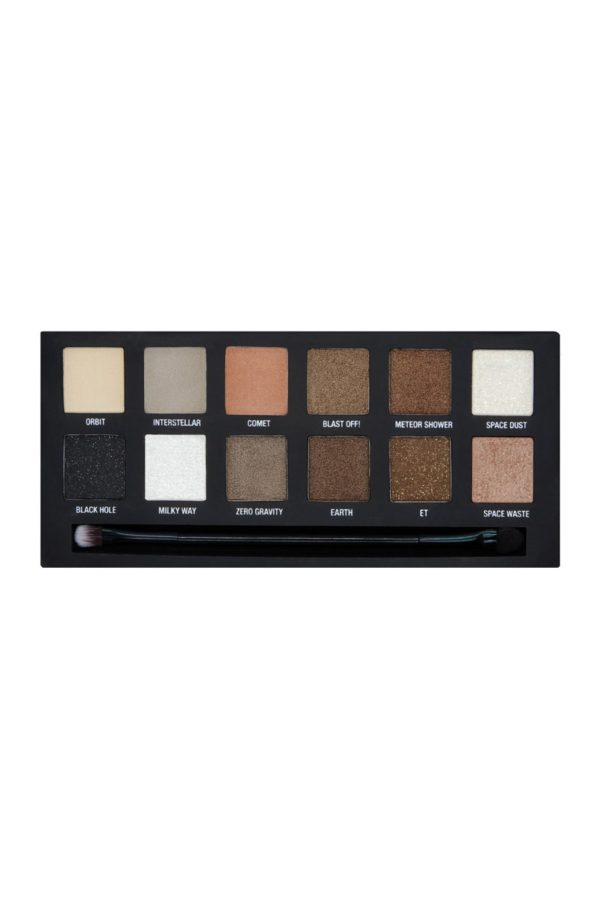 W7 Spaced Out Eye Colour Palette Παλέτα με Σκιές