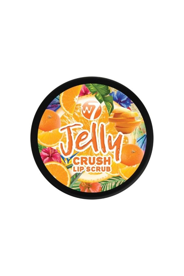 W7 Jelly Crush Lip Scrub Outrageous Orange