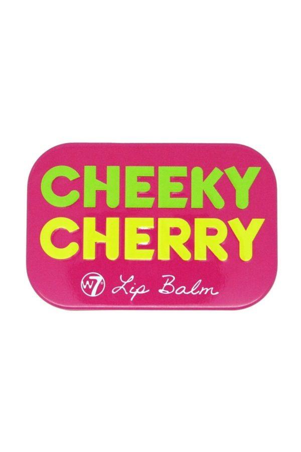 W7 Fruity Lip Balm Tin Cheeky Cherry