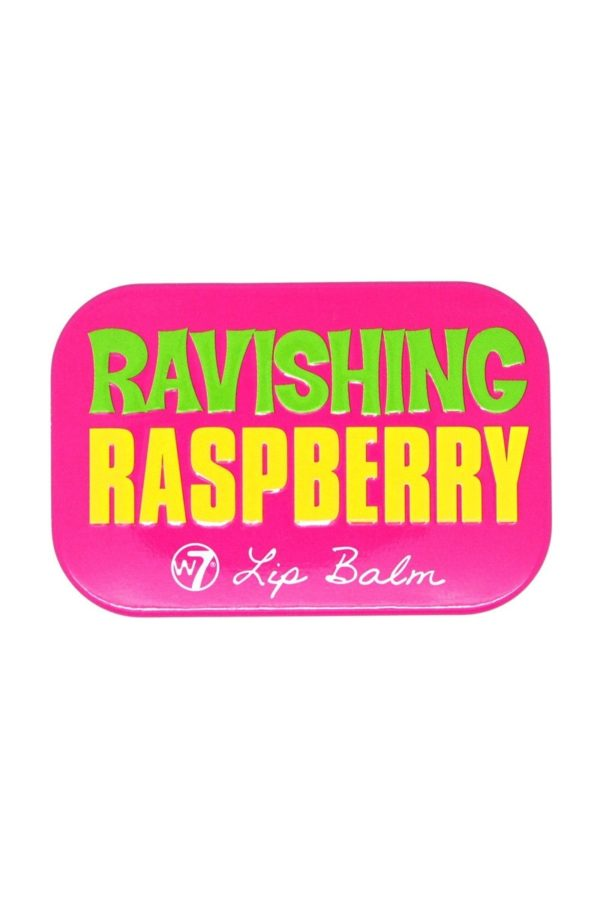 W7 Fruity Lip Balm Tin Ravishing Raspberry