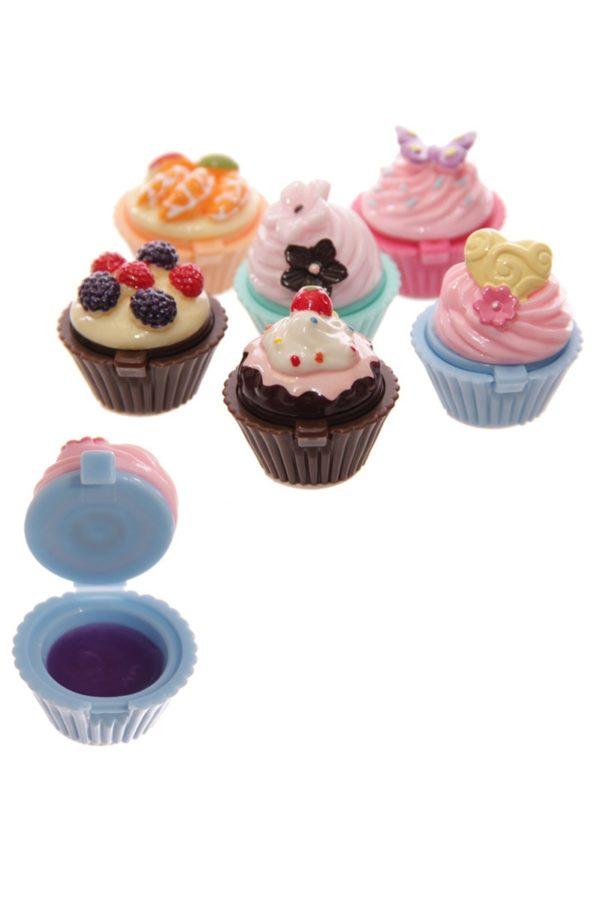 Fairy Cupcake Lip Balm Blueberry