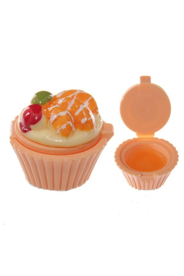 Fairy Cupcake Lip Balm Orange