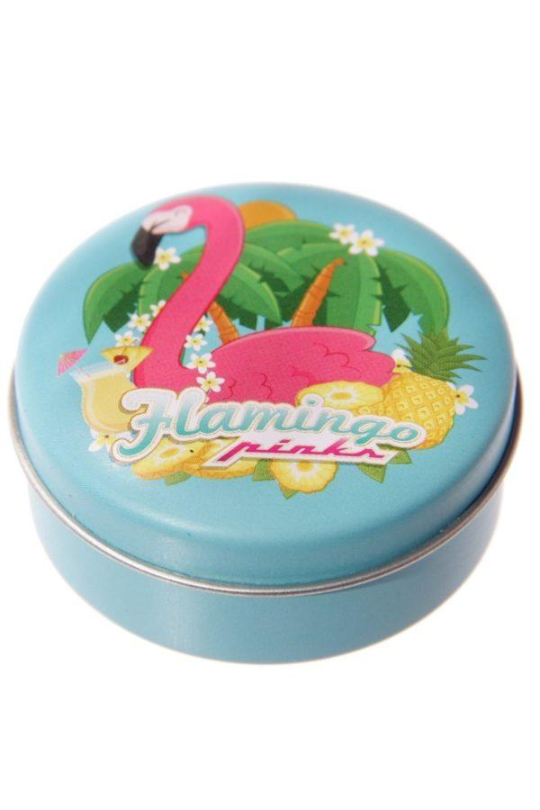 Flamingo Pinks Lip Balm Tin Pina Colada