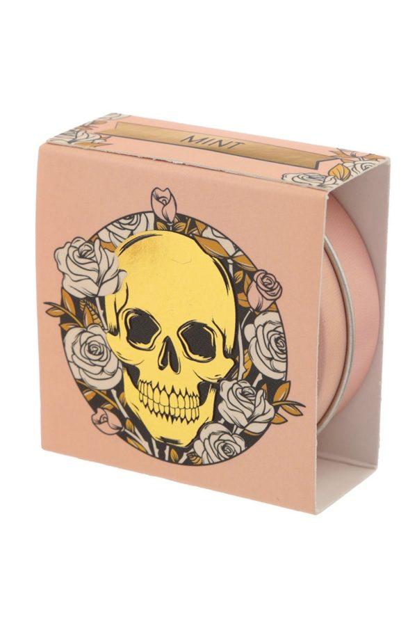 Skulls & Roses Lip Balm Tin Mint