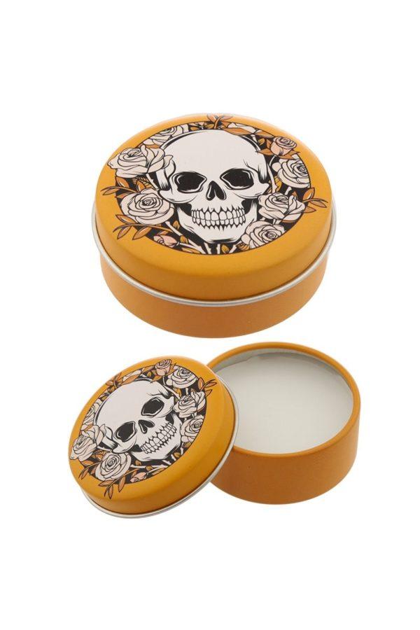 Skulls & Roses Lip Balm Tin Lemon