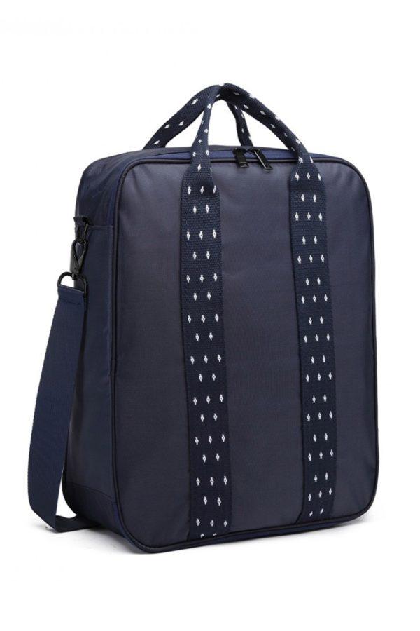 Μπλε Τσάντα Ώμου Ταξιδίου Βαλιτσάκι
