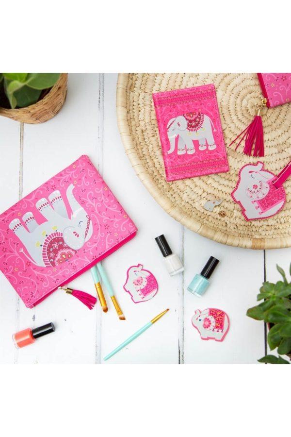 Ετικέτα Βαλίτσας Mandala Elephant Luggage Tag