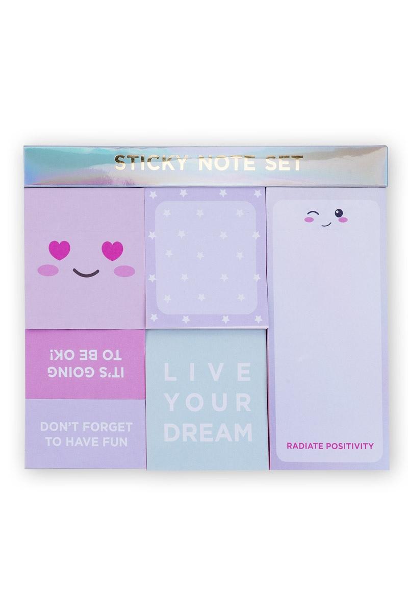 Set Αυτοκόλλητα Χαρτάκια Σημειώσεων Heart Smiles Tri-Coastal Design