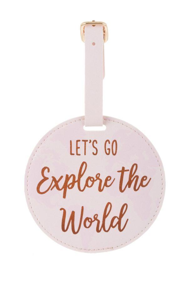 Ετικέτα Βαλίτσας World Explorer Luggage Tag