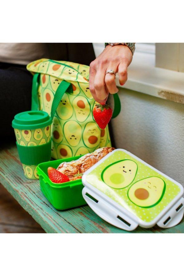Ισοθερμική Τσάντα Happy Avocado Lunch Bag