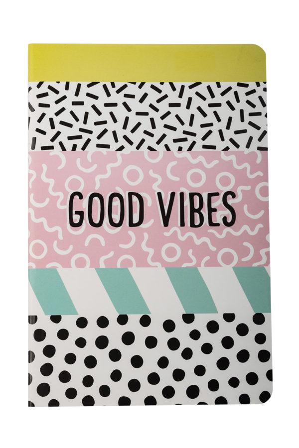 Σημειωματάριο A5 Good Vibes Pocket Notebook