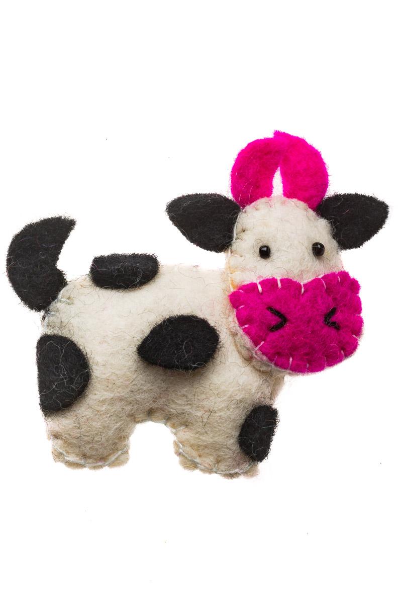 Γυναικεία Καρφίτσα Felt Αγελάδα