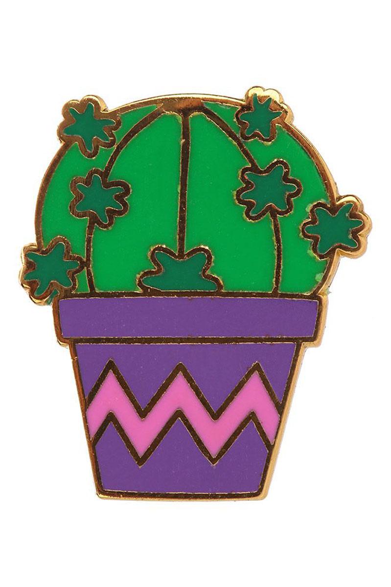 Κάκτος Συλλεκτική Καρφίτσα Pin Badge