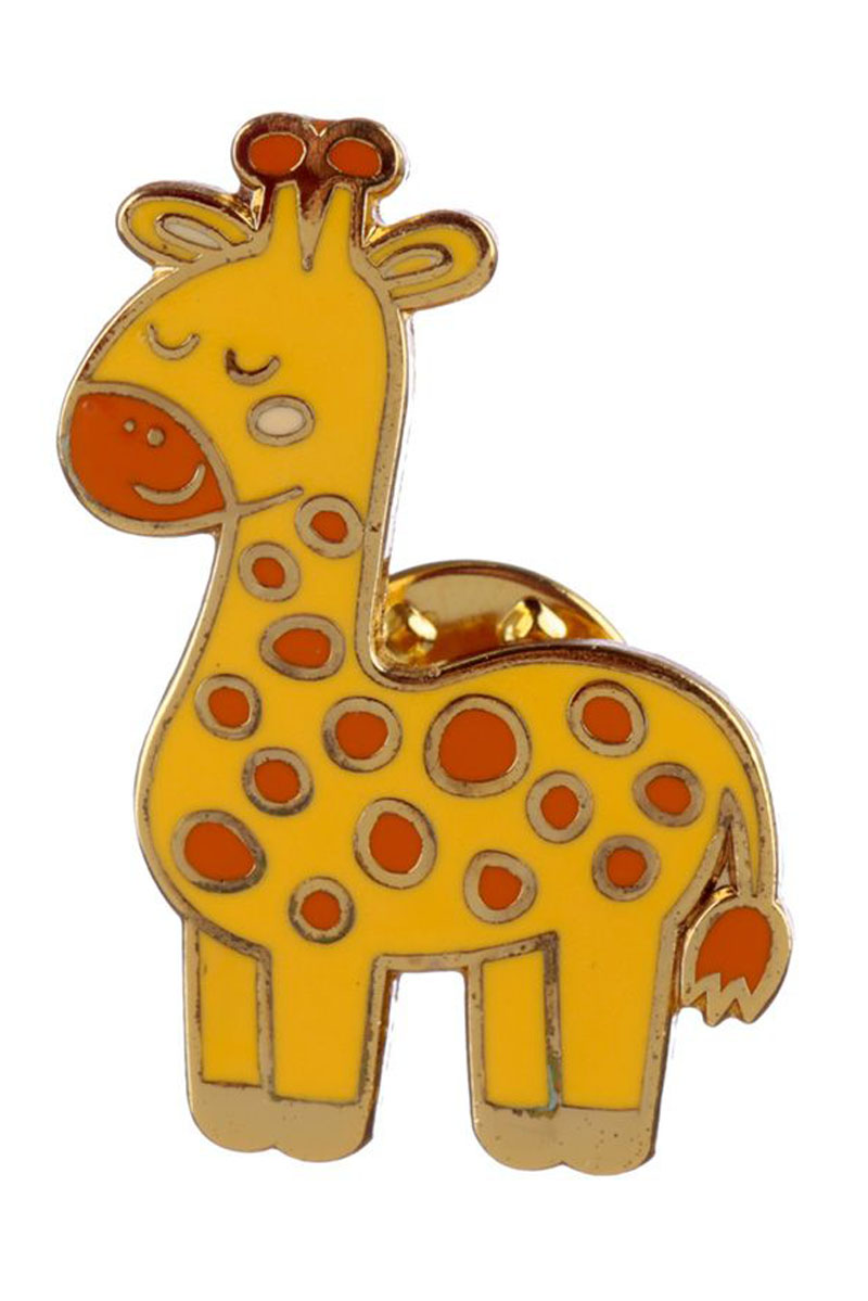 Καμηλοπάρδαλη Συλλεκτική Καρφίτσα Pin Badge