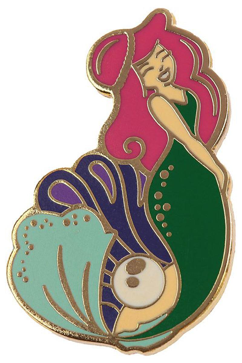 Γοργόνα Συλλεκτική Καρφίτσα Pin Badge