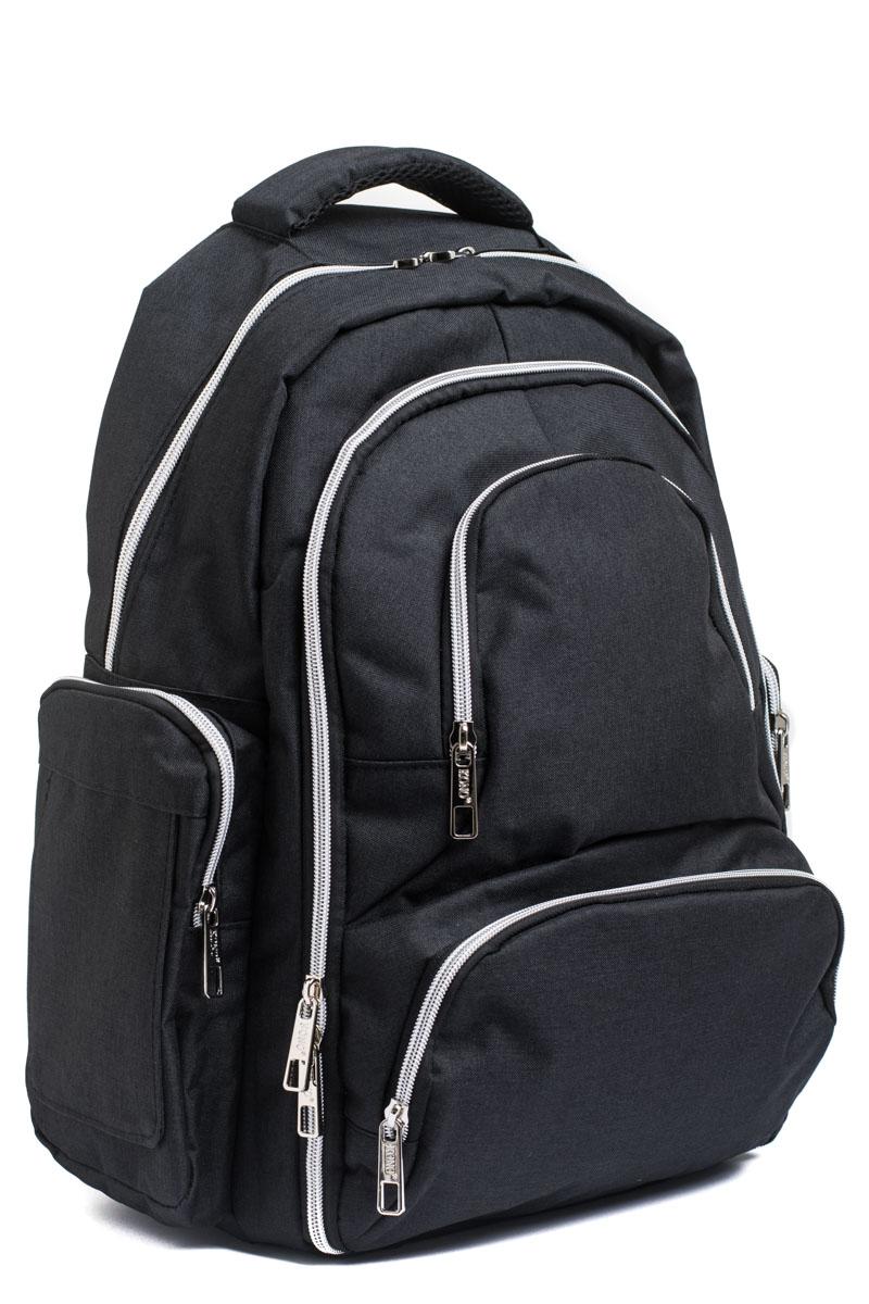 Μαύρη Μεγάλη Τσάντα Πλάτης Αλλαξιέρα