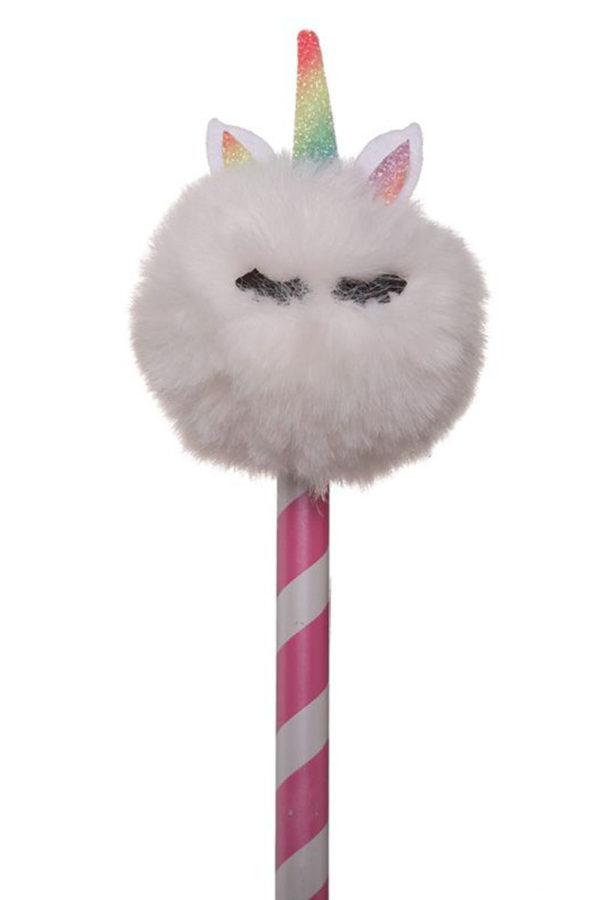 Fluffy Unicorn Μολύβι Ριγέ