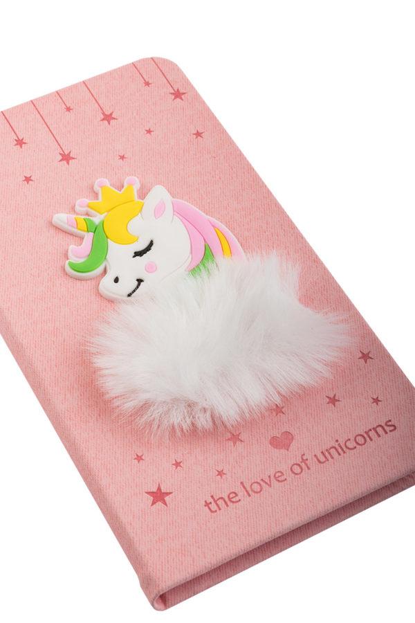 Σετ Τετράδιο Σημειώσεων με Στυλό Unicorn Fur