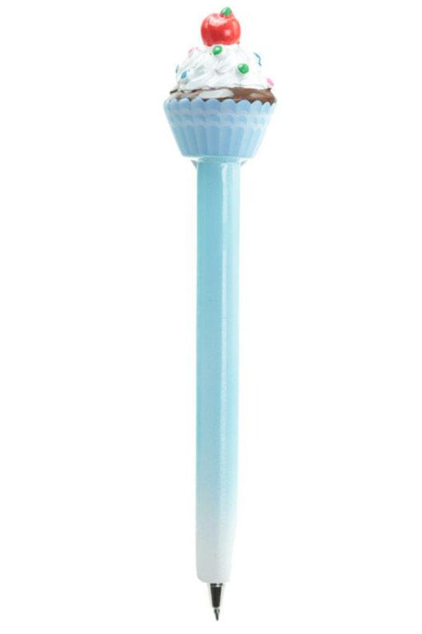 Στυλό Cupcake Γαλάζιο