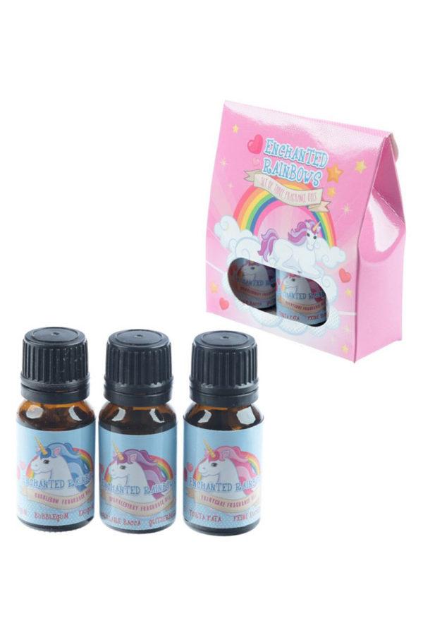 Αρωματικά Έλαια Set of 3 Enchanted Rainbow Unicorns 10ml