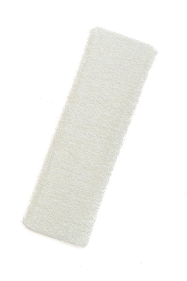 Άσπρη Πετσετέ Κορδέλα Μαλλιών