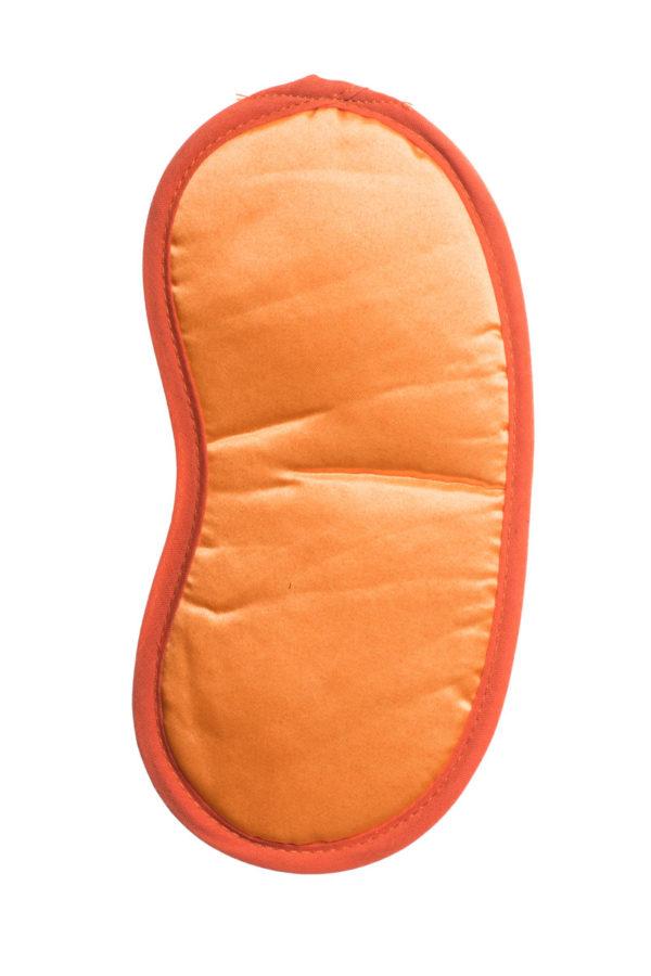 Σατέν Μάσκα Ύπνου Πορτοκαλί