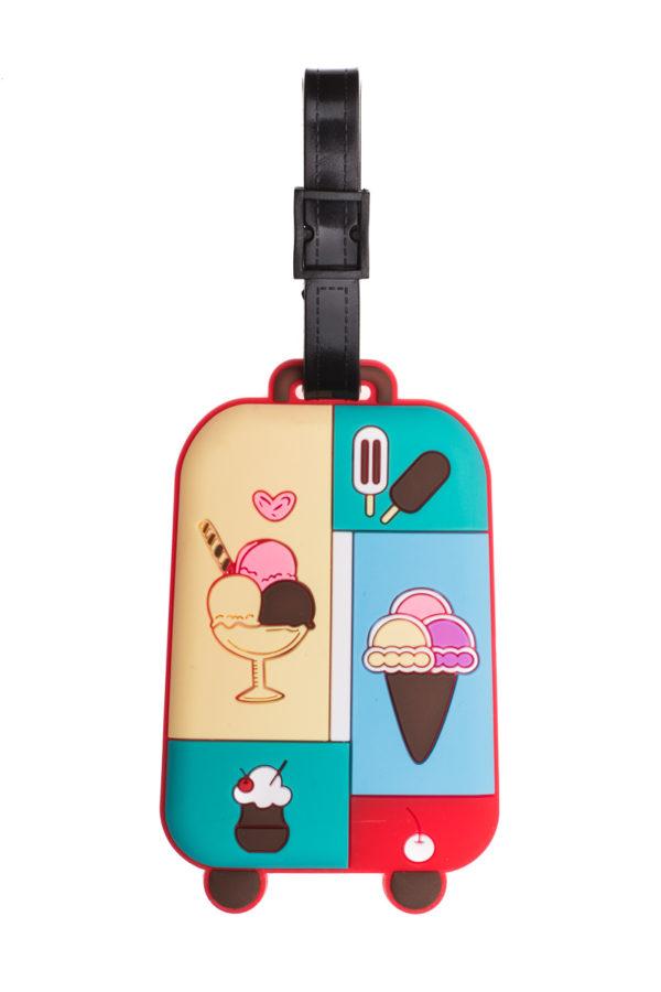 Ετικέτα Βαλίτσας Παγωτά Luggage Tag