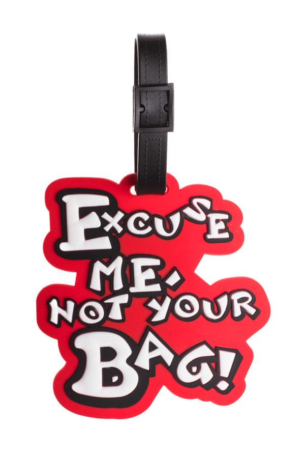Ετικέτα Βαλίτσας Not Your Bag Luggage Tag