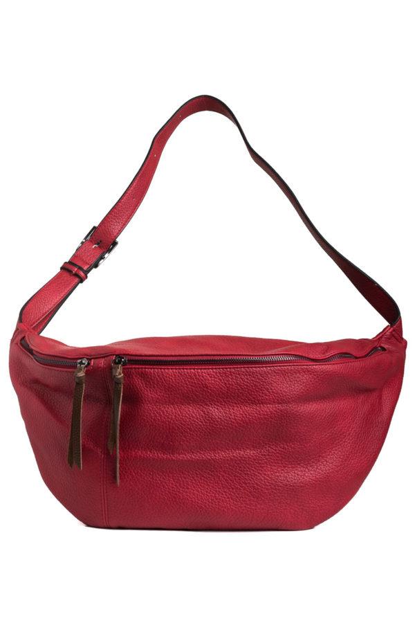 Κόκκινη Τσάντα Χιαστί Belt Bag
