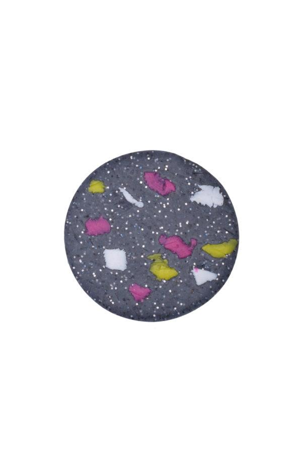Δαχτυλίδι Γκρι Κύκλος Μωσαϊκό