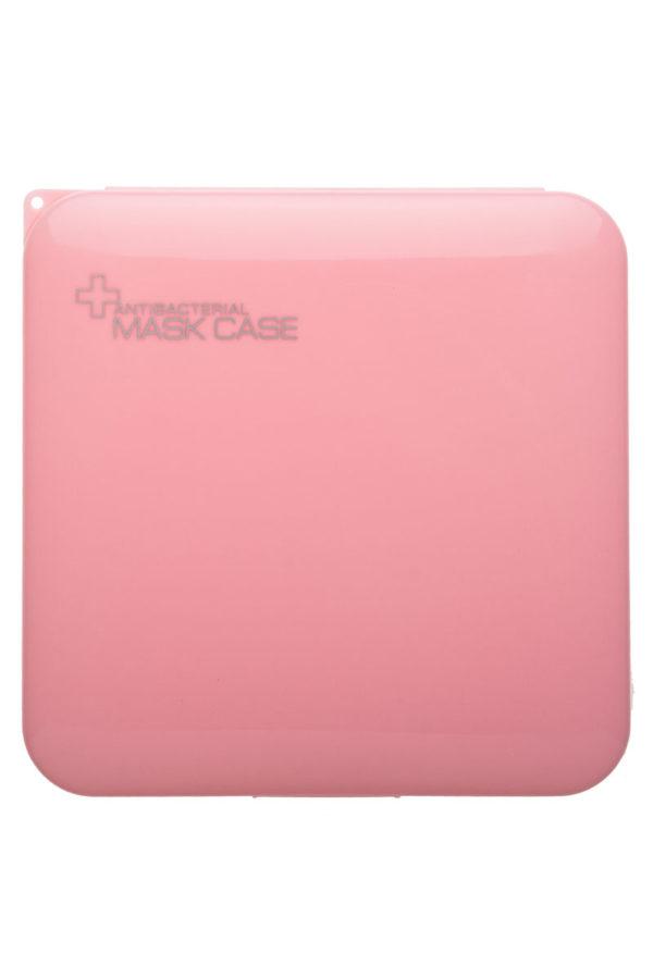 Ροζ Αντιβακτηριδιακή Θήκη για Μάσκα Προστασίας Προσώπου