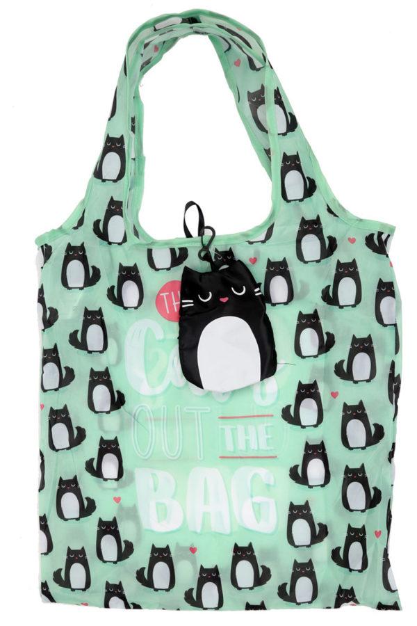 Γάτα Feline Shopping Bag σε Θήκη