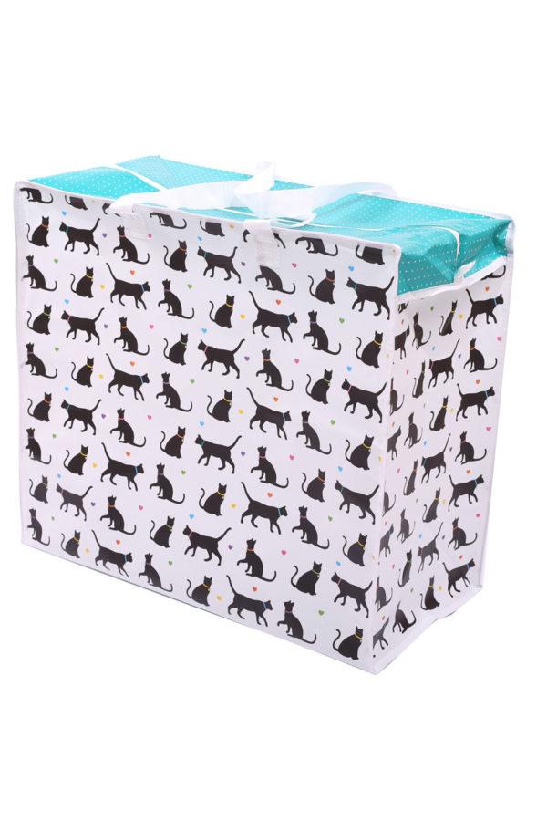 Τσάντα Αποθήκευσης Γάτες Laundry Bag