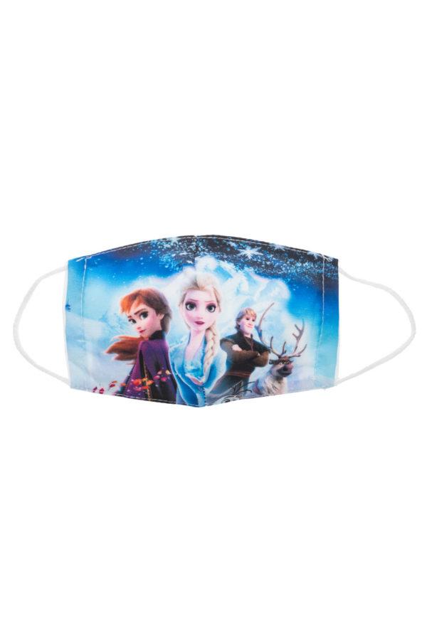 Frozen II Παιδική Υφασμάτινη Μάσκα Επαναχρησιμοποιούμενη