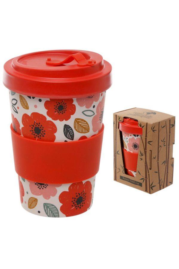Ποτήρι Καφέ Poppy Fields Bamboo Coffee Cup