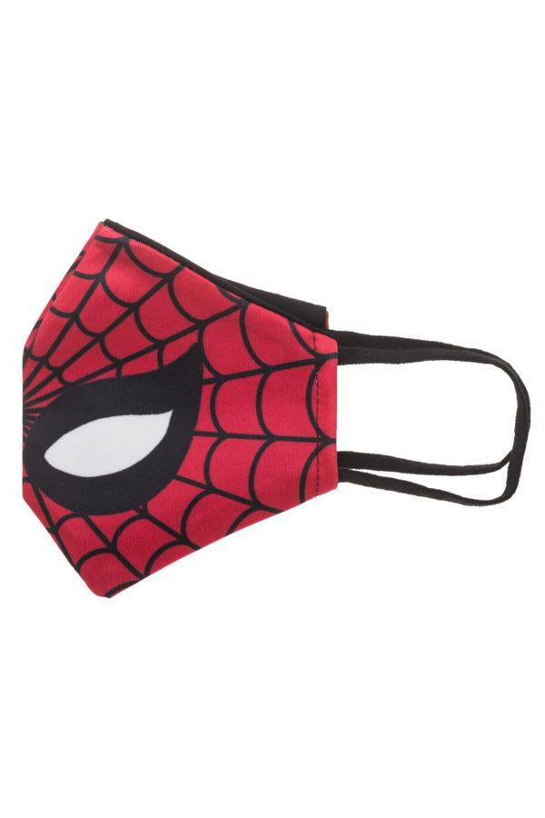 Κόκκινος Ιστός Spiderman Παιδική Υφασμάτινη Μάσκα Επαναχρησιμοποιούμενη