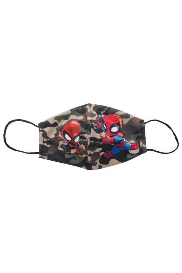 Παραλλαγή Spiderman Παιδική Υφασμάτινη Μάσκα Επαναχρησιμοποιούμενη
