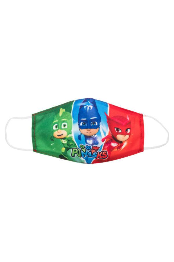 Πιτζαμοήρωες Παιδική Υφασμάτινη Μάσκα Επαναχρησιμοποιούμενη