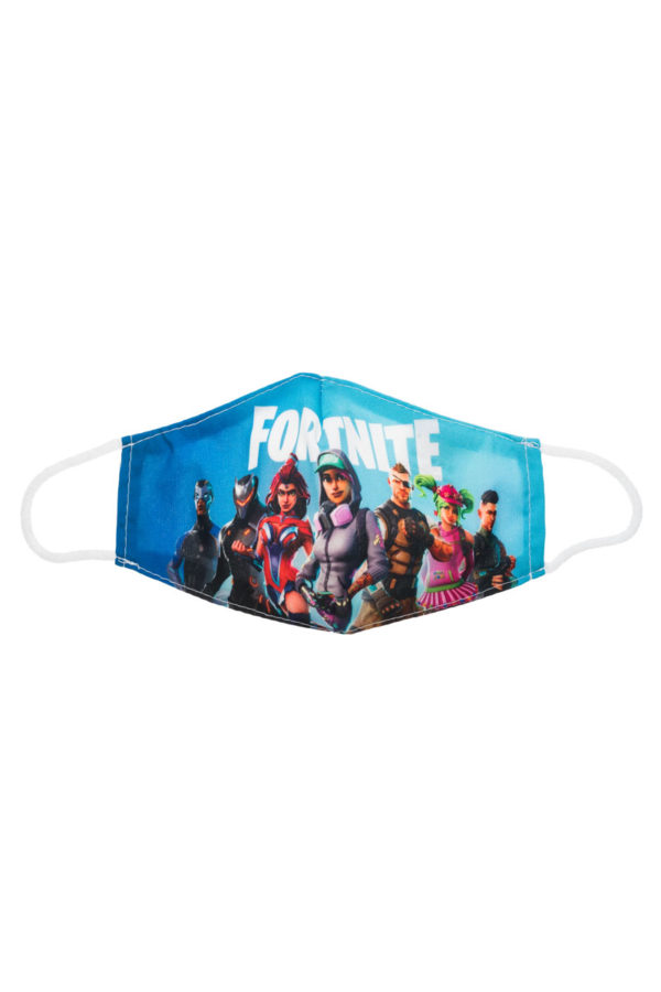 Fortnite 4 Παιδική Υφασμάτινη Μάσκα Επαναχρησιμοποιούμενη