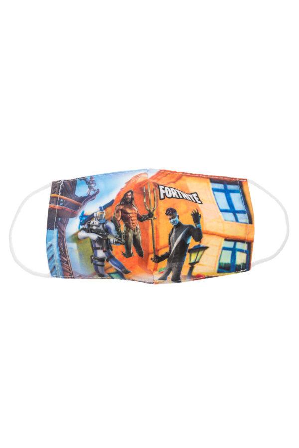 Fortnite 5 Παιδική Υφασμάτινη Μάσκα Επαναχρησιμοποιούμενη