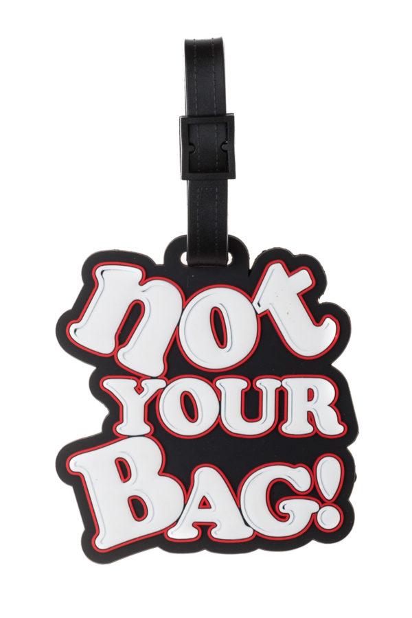 Μαύρη Ετικέτα Βαλίτσας Not Your Bag Luggage Tag