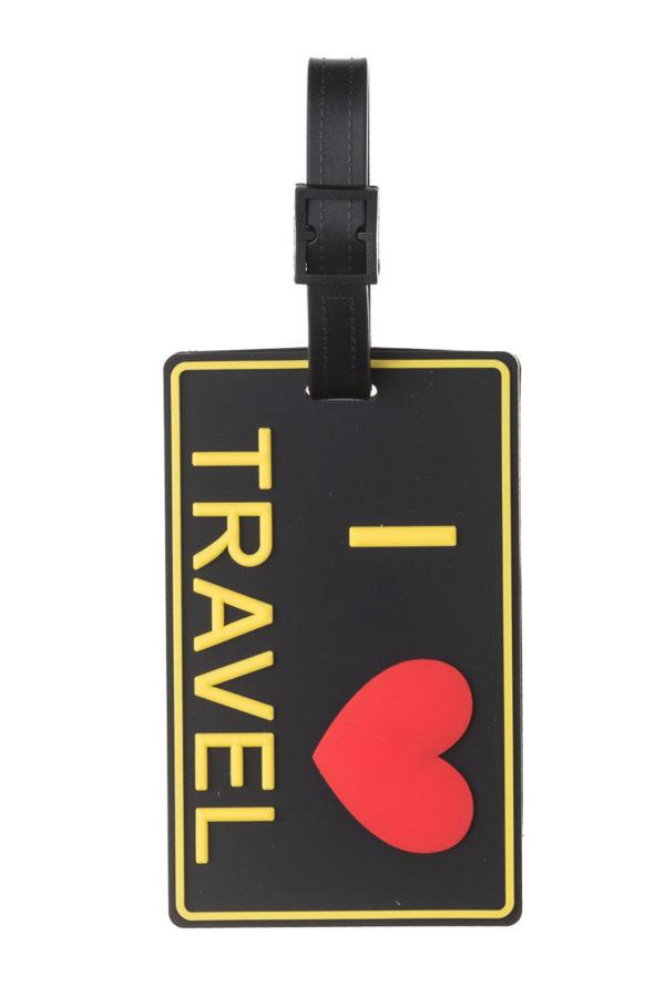 Ετικέτα Βαλίτσας I Love Travel Luggage Tag