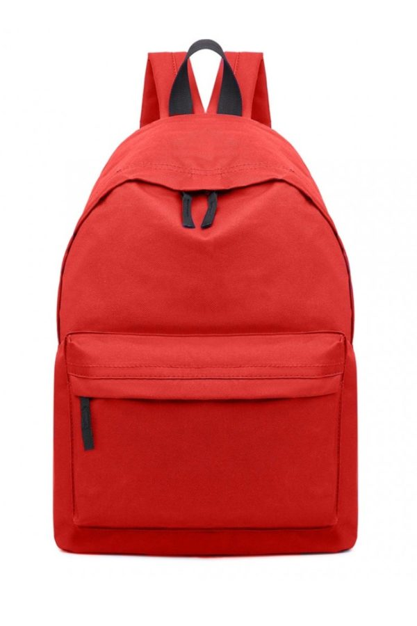 Κόκκινο Σακίδιο Τσάντα Πλάτης Μονόχρωμο